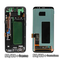 Wholesale LCD Screen panel Digitizer Assembly for Samsung note8 mobphone Hongkang vesion united station version Europe version