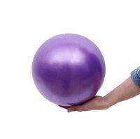 Wholesale pilates exercise balls resale online - 25cm Mini Gymnastics Fitness Equipment Ball Balance Exercise Yoga Balls Gym Pilates home pilate workouts Training Ball