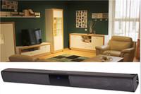 için tv radyoları toptan satış-20 W Bluetooth Ses Çubuğu Stereo Hifi Soundbar Kablosuz Ev Sineması Surround Ses Sistemi İnce TV Hoparlör TF FM AUX Radyo Sütun