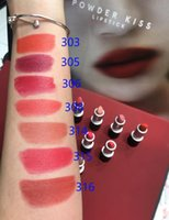 Wholesale water ship lipstick for sale - Group buy Aluminum Tube Frosted Lipstick Powder Kiss Lipstick Matte Retro Lipsticks Colors DEVOTED TO CHILI Drop Shipping