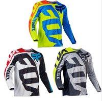 casacos mountain bike venda por atacado-KTM queda de velocidade terno de bicicleta de montanha jaqueta jaqueta de manga comprida de verão motociclista off-road