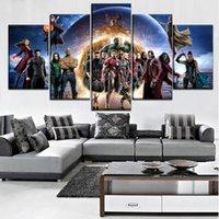 elmas sonsuzluğu toptan satış-5 adet, Tam Kare 5D DIY Elmas Boyama Avengers Infinity Savaş elmas Nakış mozaik Çapraz Dikiş Rhinestones C686
