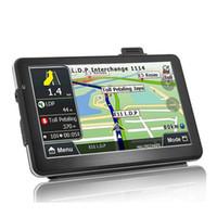 tv kartı okuyucu toptan satış-Araç GPS Navigation7 İnç Dört Çekirdek 256-8Gb Ses Dönüştürme Araç GPS Navigasyon Ömür Harita Güncelleme