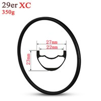 Wholesale inch bmx for sale - Group buy 29er MTB Carbon Rim For XC Cross Country Mountain Bike Wheels Hookless Style mm Width Tubeless Ready Super Light g Only