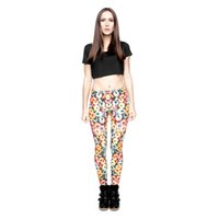 Wholesale free doughnuts for sale - Girls Leggings Doughnut Loops D Graphic  Full Printed Stretchy Pencil 9e6a7be3bac3