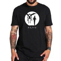 ingrosso nota di morte nera-Death Note T-Shirt Detective Anime Yagami Light Ryuk L Camicia a maniche corte in cotone Uomo Donna Unisex Fashion tshirt Spedizione gratuita nero
