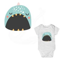 Wholesale whale sticker for sale - Group buy 2017 New Cartoon Little whale baby stickers iron on patches DIY child gift patch on clothes jacket thermal transfer