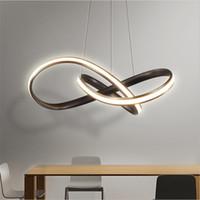 ingrosso lampadari moderni semplici-Moderna lampada a sospensione in acrilico Lampada a sospensione a LED nordico per soggiorno Sala da pranzo Lampadari a casa Lampade a LED Lampade semplici a Led