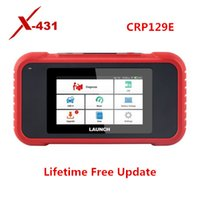Wholesale obd2 auto scanner launch resale online - Launch X431 CRP129E Auto Code Reader Scanner Supporting OBD2 ENG ABS SRS AT Diagnosis and Oil Brake SAS TMPS ETS Reset