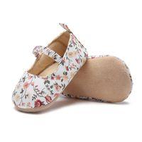 принцесса обувь для девочек оптовых-baby shoes girls cute floral soft cotton bottom baby princess shoes first toddler for 0-18M