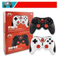 Wholesale android tablet bluetooth controller resale online - Newest X Bluetooth Gamepad Joystick Gen S5 Game Wireless Gamepad Joystick for IOS Android Smartphone Tablet PC Remote Controller