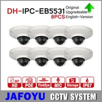 Wholesale DH IPC EB5531 MP Panoramic Network mm Fisheye Camera H H DNR AWB AGC BLC IP67 PoE Detect Built in Mic