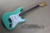 Wholesale electric guitars signatures for sale - Group buy Factory price Custom Body artist signature Stratocaster seymour dun can pickups electric guitar
