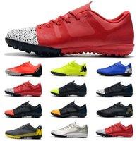 спортивная обувь оптовых-2019 Новых Самая дешевая мужские Футболы Бутсы Роналдо Неймар Испарение X 12 клуба TF футбол обуви Открытых бутс Тако де Futbol