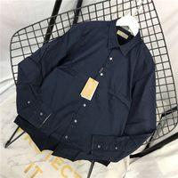 iş bluzu kadın toptan satış-19ss BBR Iş Paris Bluz eğlence Tee gömlek Nefes uzun Kollu Tişört Erkek Kadın bluzlar Casual Açık Streetwear Tişörtleri