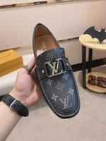 Wholesale brand designer shoes for men for sale - Group buy 2020TOP Brand Red Bottom Loafers Luxurious Party Wedding Shoes Designer BLACK PATENT LEATHER Suede Dress Shoes For Men Slip On Flats
