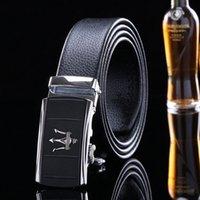 ingrosso annata genuina uomini cintura in pelle-Vera Pelle Cintura in alta qualità di nuovo cinghie designer uomini di lusso Strap maschio cintura fibbia della cintura moda vintage per jeans