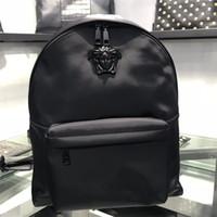 cuero de damas modernas al por mayor-Diseñador de lujo bolsa de hombro de moda de cuero mochila de alta calidad de la moda moderna bolsa de viaje diseñador damas mochila moderna