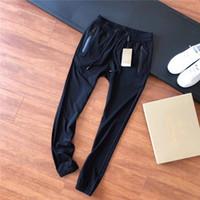 ingrosso pantaloni per il design degli uomini-19ss Summer Design lussuoso asciugatura ghiaccio bbr cinghie elastiche in vita Pantaloni da uomo Sport all'aria aperta da donna Pantaloni sportivi da jogging