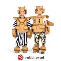 Wholesale robot paper for sale - Group buy Children s wearable armor cardboard armor DIY children s toys paper toys graffiti robot suit