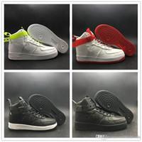придерживаться n оптовых-2019 ВЫСОКИЙ 07 QS MAGIC STICK VIP Skate Shoe Черный Белый Зеленый Красный Glow In Dark Fashion Новая дизайнерская обувь для баскетбола