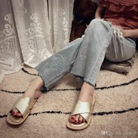 Wholesale wearing pvc dresses resale online – 2019 HOT Wearing thousands of years of cross dressing fashion sense of women s summer wear French designer sandals luxury sexy fashion