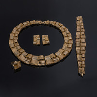 Wholesale bead sets jewellery for sale - Group buy BAUS Vintage Dubai African Beads Jewelry Set Nigerian Wedding Dubai Jewelry Sets For Women Bohemian Luxury Bridal Jewellery Set
