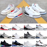 Wholesale fire mens resale online - 2019 Hot white black cement mens basketball shoes jth fire red charity game sport blue Katrina men luxury designer sneakers