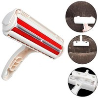 ingrosso spazzola rullo tappeto-2-Way Pet Remover Roller Pet Puppy Brush di pulizia Dog Cat Hair Sofa Carpet Cleaner Brushes Mobili Lint Pet Hair Remover