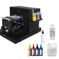 Wholesale printer machine for t shirt for sale - Group buy A4 Flatbed Printer for Print T shirt Digital DTG Printer for textile t shirt printing machine with textile ink