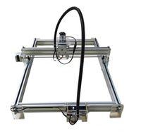 corte laser grabado al por mayor-Área de trabajo grande 65 * 50 cm Máquina de grabado láser DIY Máquina de grabado por láser de mecanizado compatible con láser Ajuste de potencia láser 2500mW 5500mW 7000mW