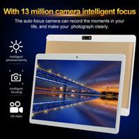 tabletten dual core 32gb großhandel-V10 10,1 Zoll 4G-LTE Android 8.0 Laptop 8 + 128 GB Dual-SIM-Kamera Wifi Tablet PC