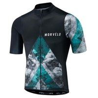 Wholesale cycling jerseys men china resale online - 2019 New morvelo cycling Jersey men short sleeve bike cycling clothing mountain bicycle shirt bicicleta maillot cheap clothes china F60421