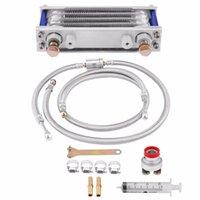 ölkühler großhandel-Motorrad 65ml Ölkühler Motoröl Cooling Kit Kühlersystem für GY6 Motor Motorrad Kühlen Motor Zubehör