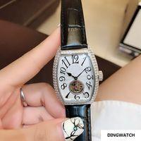 diamantes de aço novo relógio de mulher preto venda por atacado-HOT PRETO senhora diamante 32 MM caso mulheres automáticas assistir esporte de moda de luxo novas mulheres de aço Inoxidável relógios
