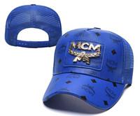 sombreros de malla al por mayor-2019 Hot New Fashion AX Sombreros Marca Hundreds Strap Back Hombres Bone Snapback Hat Ajustable Panel Casquette Golf Deportes malla Gorra de béisbol
