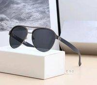 уникальный дизайн упаковки оптовых-2019 NEW FASHION 4 цвета солнцезащитные очки с полным набором упаковки уникальный дизайн для мужчин высокого качества бесплатная доставка 010.