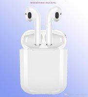 тросовые шкафы оптовых-i9s tws беспроводные наушники Bluetooth Ture стерео 5.0 Наушники поддержка наушников всплывающих окон с силиконовым защитным чехлом Anti Lost Rope