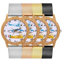 корейские браслеты оптовых-Hot Net With Watch Fashion Smooth Wristband Korean Men And Women Table t175f