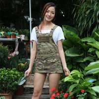 Wholesale work aprons men for sale - Group buy Mountain camouflage Ripstop Tactical Aprons for working Krypteck camouflage working Apron Man Tactical Aprons