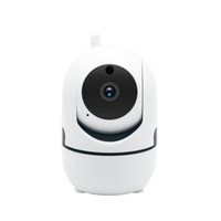 Wholesale mini surveillance camera wifi wireless resale online - Auto Track P Camera Surveillance Security Monitor WiFi Wireless Mini Smart Alarm CCTV Indoor Camera Baby Monitors