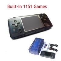 formato polegadas venda por atacado-JOGO RS-97 Mini Handheld Game Player 3.0 polegada LCD Consola De Jogos Portátil Para CP1 CP2 NEOGEO GBA FC FC SFC Formato Jogos suporte TF cartão