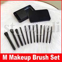 Wholesale make up eye shadow cosmetics for sale - Group buy M Makeup Brush Set Foundation Powder Eye Shadow Make Up Brushes Cosmetic Beauty Make Up Tools set