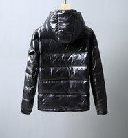 ingrosso giacca di alta marca giù uomini-Monclers uomo giacca designer Inverno 19 Winter New Luxury Bubble rivestimento di affari nero di marca di alta qualità del cappotto Large Size Down Jacket