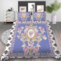 Wholesale elegant floral bedding sets resale online - Bronze Mirror Bedding Set Girls Elegant Creative Floral Duvet Cover King Queen Twin Full Single Double Bed Cover with Pillowcase