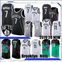 haut de maillot de basketball achat en gros de-NCAA Kevin Durant 7 2019 2020 New jersey de basket-ball Kyrie 11 Hommes Irving College Basketball Hot Top ventes chemise chaud Qualité