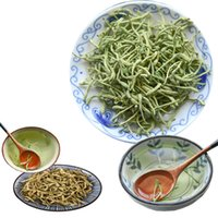Wholesale china health tea resale online - Hot sales Honeysuckle Flower Tea Reduce Internal Heat China Hunan Wild Scented Tea Good for Health Heat clearing and Detoxifying