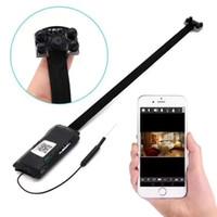 ir kamera modülü toptan satış-4 k Wifi modülü Mini P2P IP Kamera HD 1080 P IR Gece görüş DIY Modülü kamera Kablosuz Ağ Kamera Ev Güvenlik Gözetim DVR
