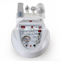 ingrosso diamante dermoabrasione a ultrasuoni-DHL 5 in 1 macchina multifunzionale di dermabrasion macchina ultrasonica della pelle microdermoabrasione macchina di peeling del diamante con scrubber della pelle