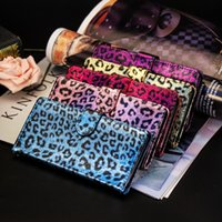 Wholesale iphone flip leopard for sale - Luxury Leopard Wallet Leather Case For Samsung Galaxy S10 S10E S10 Plus IPhone X XS Max XR Photo Frame Card Stand Phone Flip Skin Cover